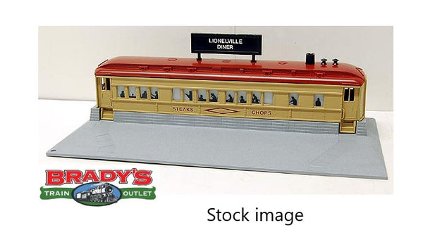 Lionel 6-12722 Roadside Diner with operating smoke