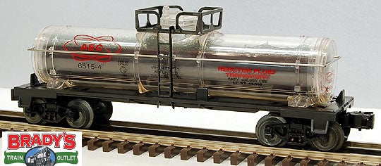 Lionel 6-16160 AEC Atomic Energy Commission Tank Car with Reactor Fluid AZ Faded Box