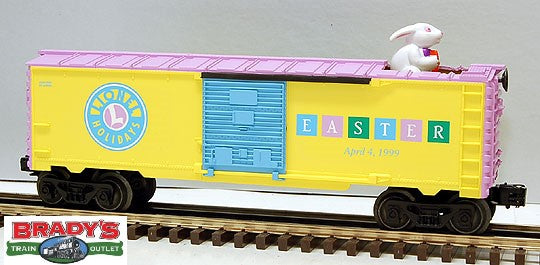 Lionel 6-16789 Animated Easter Boxcar 1999 AZ