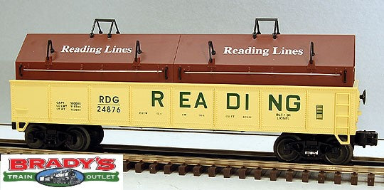 Lionel 6-17405 Reading Railroad Gondola w/Coil Covers