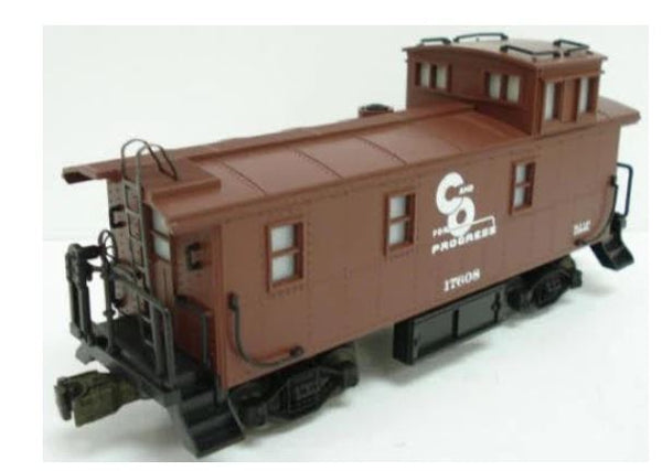 Lionel 6-17608 Chessie System Caboose w/Smoke & Warning Light #17608 Square Window