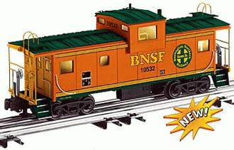 Lionel 6-17628 BNSF Extended Vision Caboose