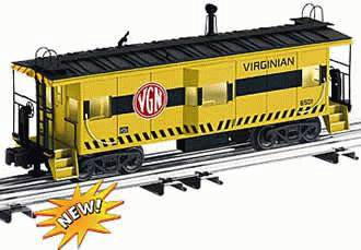 Lionel 6-17631 Virginian Bay Window Caboose #6501