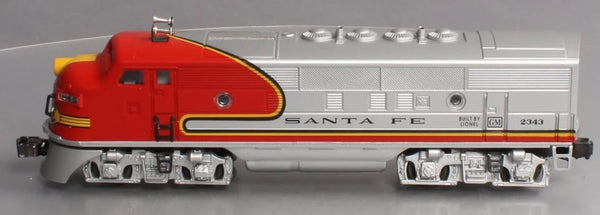Lionel 6-18134 Santa Fe Non Powered A unit 2343 with TMCC