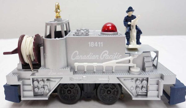 Lionel 6-18411 Canadian Pacific Fire Fighter Car