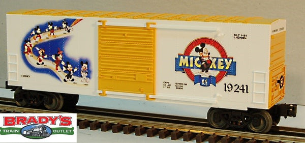 Lionel 6-19241 Mickey Mouse Hi Cube Boxcar