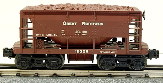 Lionel 6-19308 Great Northern GN Ore Car w/Ore Load