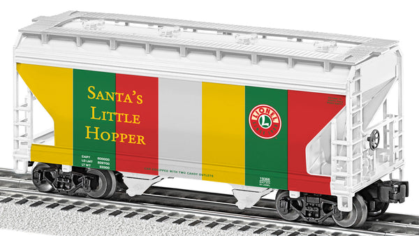 Lionel 6-19366 Santa's Little Hopper ACF 2-Bay Hopper