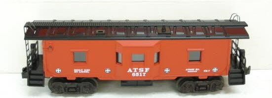 Lionel 6-19732 Atchinson, Topeka and Santa Fe AT&SF Bay Window Caboose #6517