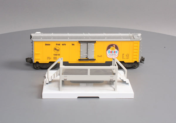 Lionel 6-19810 Bosco Operating Milk Car with Platform