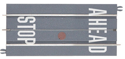 "Lionel 6-21573 Superstreets 5"" Straight Stop Ahead (2)"