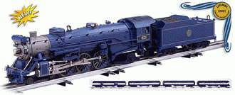 Lionel 6-21787 Blue Comet Passenger Set Locomotive #831 Used