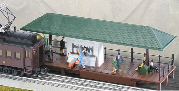 K-Line 6-22191 Operating Passenger Station with moving figures