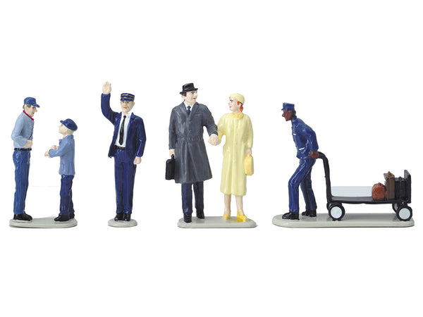 Lionel 6-24123 Passenger Station People Pack Figures O Scale