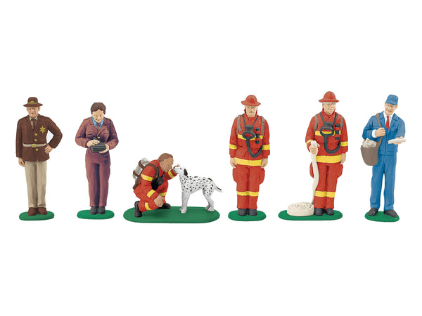 Lionel 6-24194 Civil Servants People Pack Figures O Scale