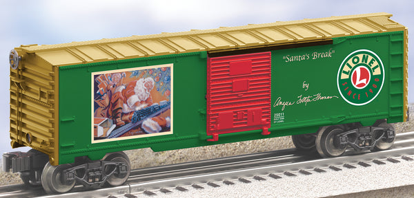 Lionel 6-25011 Angela Trotta Thomas Santa's Break Boxcar