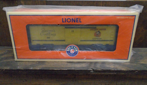 Lionel 6-25035 Disney Holiday Boxcar 2006