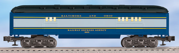 Lionel 6-25176 Baltimore & Ohio B&O Baby Madison Trainsounds Baggage Car #665