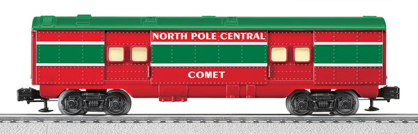"Lionel 6-25197 North Pole Central Streamlined Baggage Car ""Comet"""