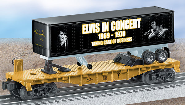 Lionel 6-26091 Elvis in Concert 1969-1970 Flat car w/tractor and trailer O27