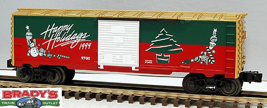 Lionel 6-26243 Happy Holidays 1999 Boxcar