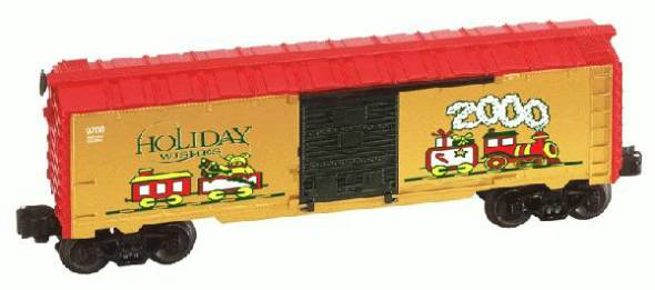Lionel 6-26272 Christmas Boxcar from 2000