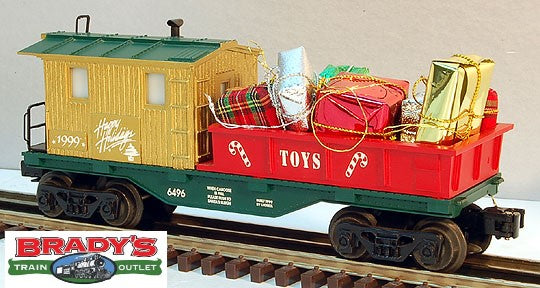 Lionel 6-26519 Happy Holidays 1999 Holiday Work Caboose #6496
