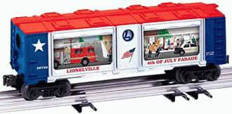 Lionel 6-26786 Operating Parade Car 4th of July