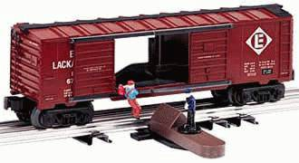 Lionel 6-26787 Erie Lackawanna Jumping Hobo Car