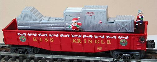 Lionel 6-26789 Kiss Kringle Chase Gondola