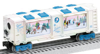 Lionel 6-29321 Lionelville Ice Skating Aquarium Car Used