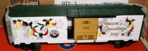 Lionel 6-29931 Lionel Railroader Club 2005 Season's Greetings Christmas Boxcar