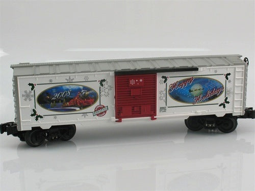 Lionel 6-29957 Lionel Railroader Club 2008 Season's Greetings Christmas Boxcar
