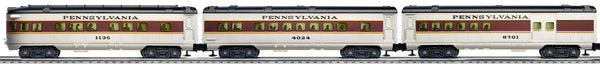 Lionel 6-30004 Pennsylvania Flyer Passenger Expansion Pack