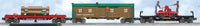 Lionel 6-30036 Great Western Railroad Lincoln Log Expansion Set