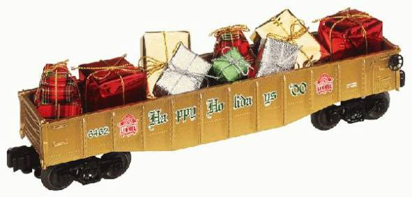 Lionel 6-36066 Christmas Gondola with presents