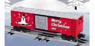 Lionel 6-36243 Christmas Boxcar 2002