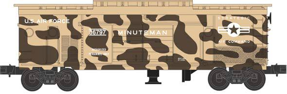 Lionel 6-36797 Operation Iraqi Freedom Minuteman Boxcar