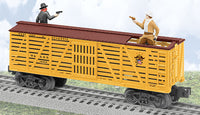 Lionel 6-36856 Western & Atlantic Sheriff and the Outlaw Car