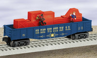 Lionel 6-36887 Great Western Animated Gondola