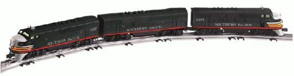 Lionel 6-38197 Southern Pacific TMCC F3 A-B-A Diesel (PWR & DMY A #2387) SEALED