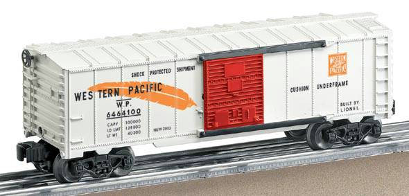 Lionel 6-39257 Western Pacific WP Boxcar Boys #6464-100