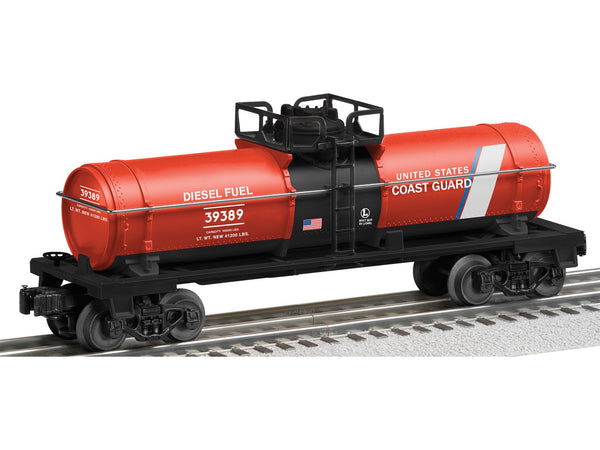 Lionel 6-39389 U.S. Coast Guard Made in the USA Tank Car