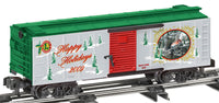 Lionel 6-48376 American Flyer 2009 Holiday Boxcar S Gauge