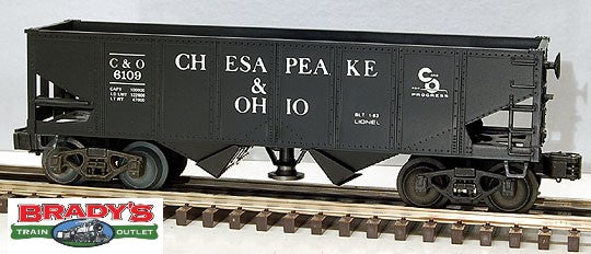 Lionel 6-6109 Chesapeake & Ohio C&O Operating Hopper Car