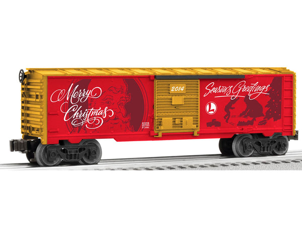 Lionel 6-81316 Christmas Personalized Message Boxcar