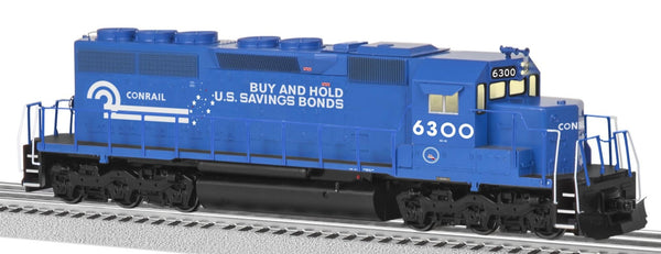 Lionel 6-82284 Conrail Savings Bonds Legacy SD 40 Diesel #6300 Built to Order BTO