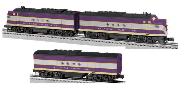 Lionel 6-82293 Atlantic Coast Line ACL LionChief Plus FT AA Diesels #32 WITH 6-82303 FT B Unit