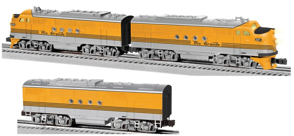 Lionel 6-82299 Rio Grande LionChief Plus FT AA Diesels WITH 6-82305 FT B Unit
