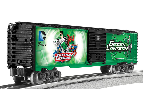 Lionel 6-82682 Green Lantern Justice League Boxcar